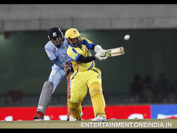 Chennai Rhinos-Bhojpuri Dabanggs Match - Photo 12