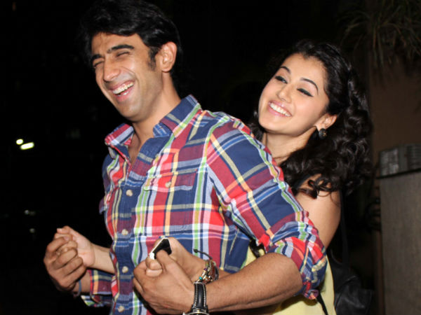 Photo: Taapsee Celebrates Valentine's Day With Amit Sadh