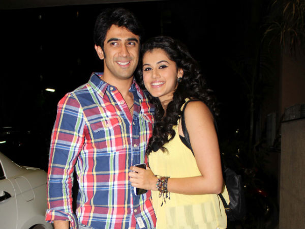 Taapsee With Amit