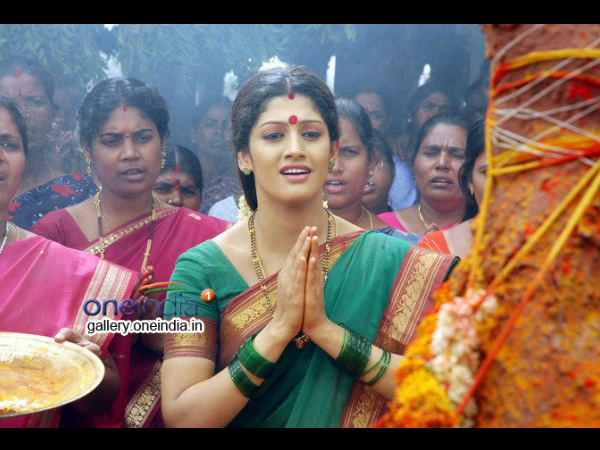 Radhika Kumaraswamy In Black Magic Movie