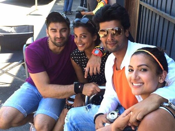 Kushal With Gauhar