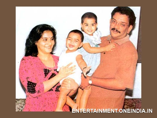 Priyadarshan-Lissy With Their Kids