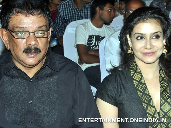 Priyadarshan-Lissy At Thandavam Audio Launch