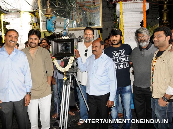 Prakash Switches On Camera