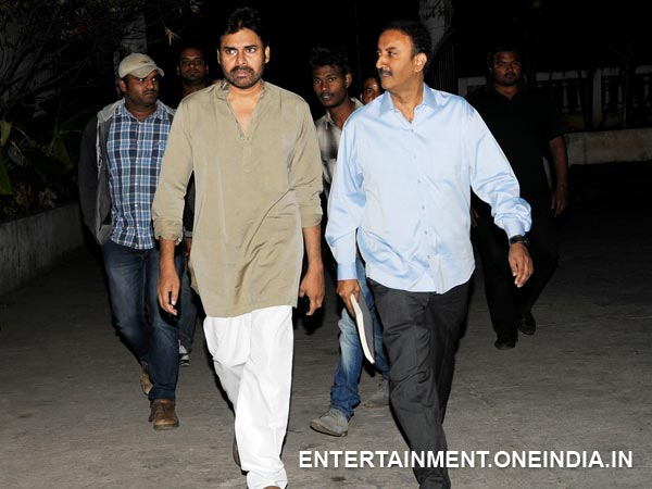 Pawan Kalyan With Sharat Marar