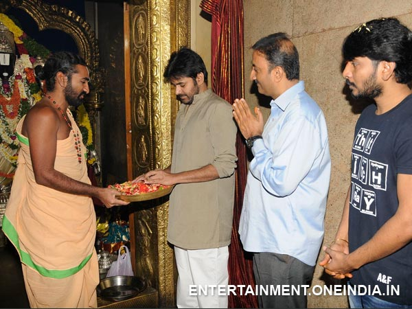 Pawan Offer Prayers To Lord