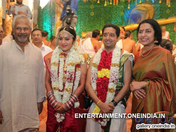 Marriage Photo: Mani Ratnam And His Wife With Newly Married Couple