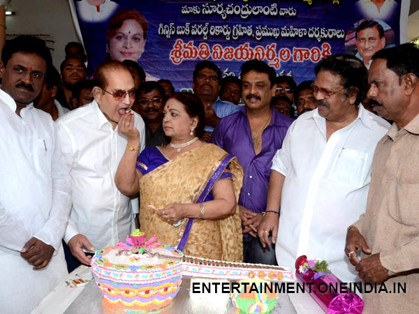 Pics: Mahesh Babu Missing In Krishna s Wife Vijaya Nirmala ...