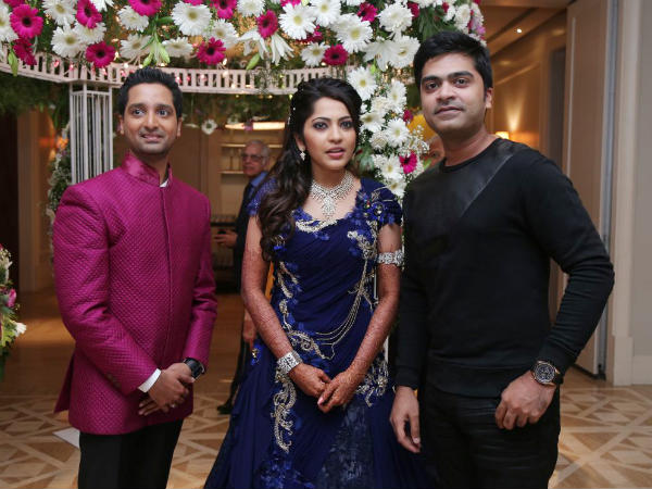 VJ Ramyas Wedding Reception Photos