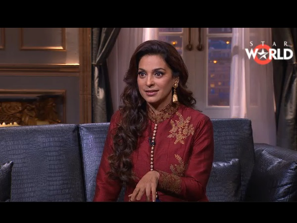 Juhi's First Time On KWK