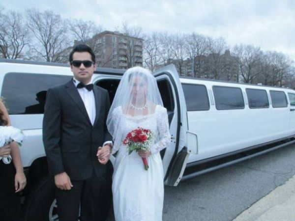 Veena Malik's Wedding Photo
