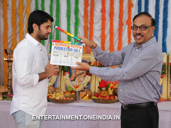 Rammohan Rao Launches Nithin's New Movie