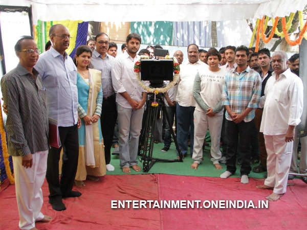 Surender Reddy Directs First Shot Of Nithin's New Movie