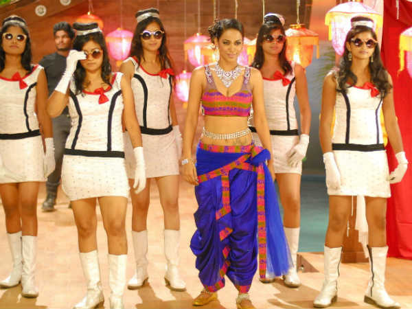Mumaith Khan In 'Babu Rambabu'