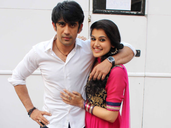 Picture: Taapsee With Amit Sadh