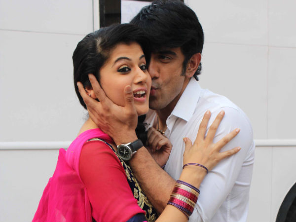 Picture: Taapsee And Amit