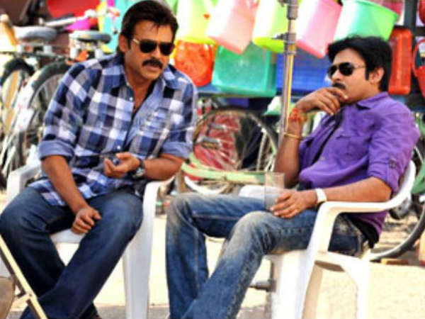 Venkatesh and Pawan Kalyan
