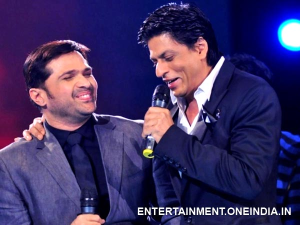 Himesh and SRK