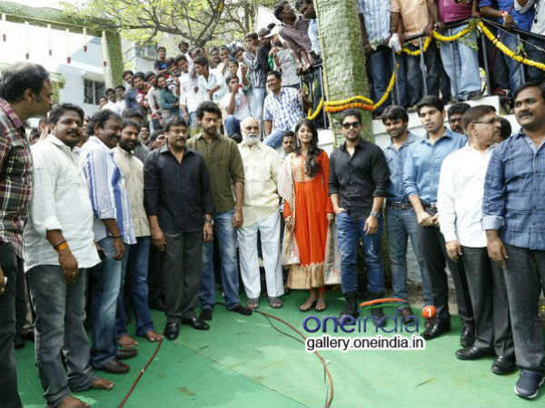 Chiranjeevi With Varun And Guests
