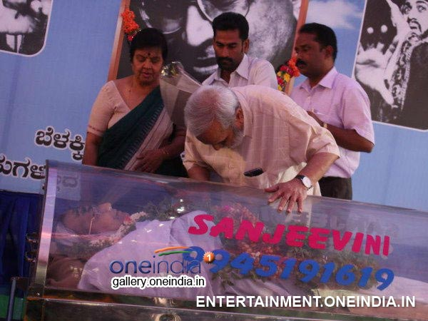 UR Ananth Murthy Paid His Last Respect