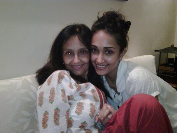 Jiah Khan with Rabbiya Khan