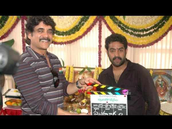 Nagarjuna Launching Brindavanam Shooting