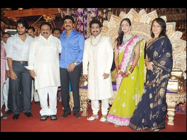 Nagarjuna At Jr NTR's Wedding