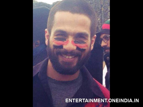 Shahid Seems To Be Very Proud Of Haider