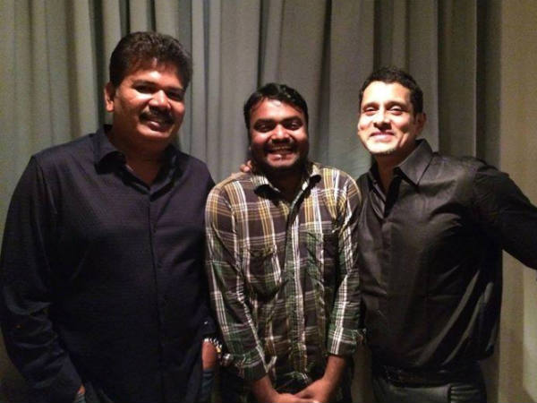 Photo: Shankar & Vikram At Ai Wrap Up Party