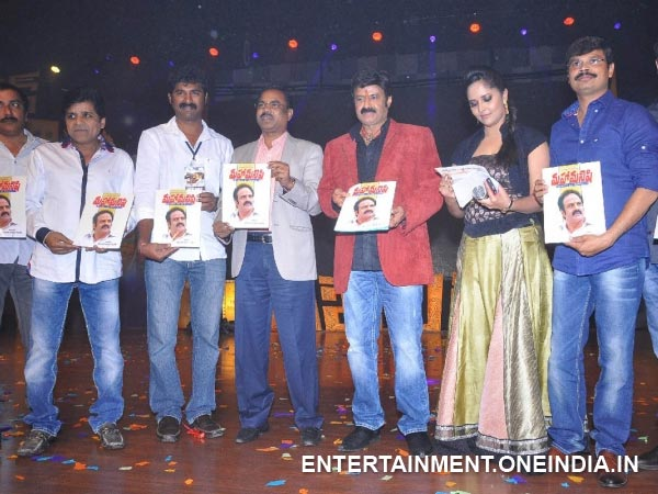 Balakrishna, Legend Team Pose With Music CDs