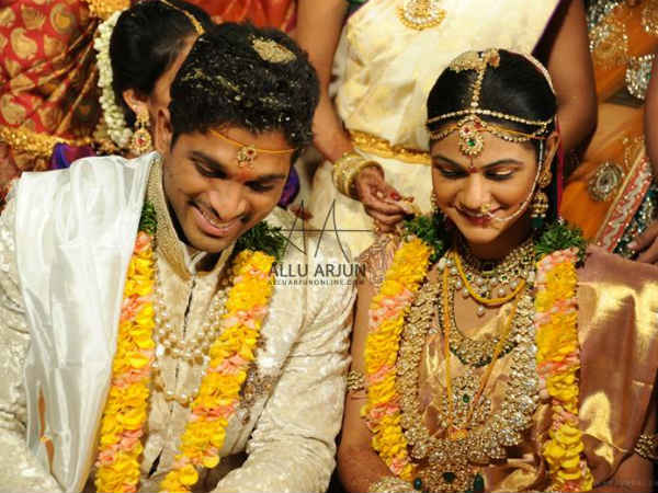 Allu Arjun-Sneha Reddy's Marriage