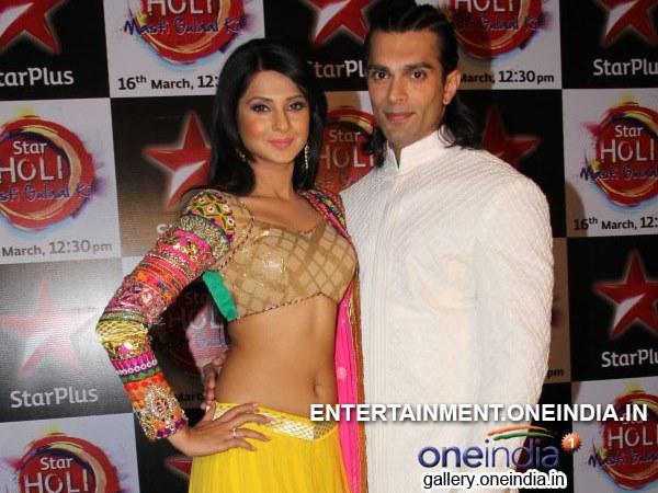 Karan Singh Grover | Jennifer Winget | Star Plus Holi | Rithvik ...