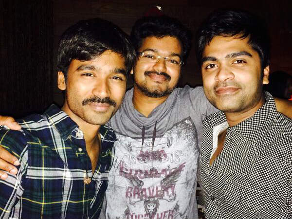 Vijay, Simbu, Dhanush Party Hard