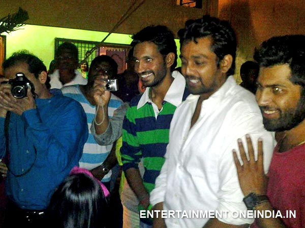 Dhruva Sarja At Radhika Pandit's Birthday Bash