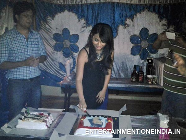 Bahaddur Team At Radhika Pandit's Birthday Bash