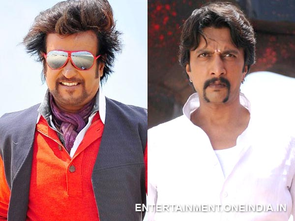 Rajinikanth And Sudeep