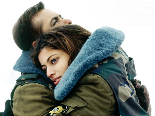 Salman Khan and Sneha Ullal