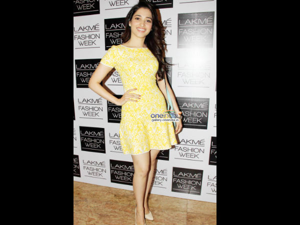 Photo: Glamarous Tamanna At Lakme Fashion Week 2014