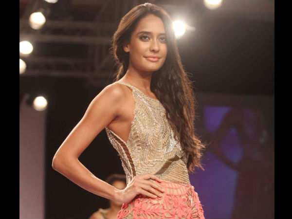 Photo: Lisa Haydon Walks Ramp At Lakme Fashion Week 2014