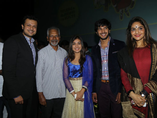 Vaayai Moodi Pesavum Team With Mani Ratnam