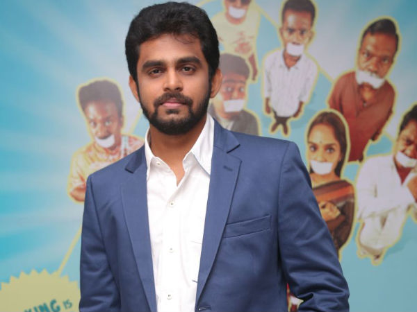 Balaji Mohan At Vaayai Moodi Pesavum Music Launch