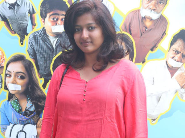 Gayathri Raghuram At Vaayai Moodi Pesavum Music Launch