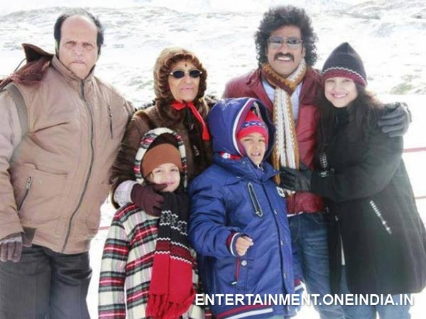 Upendra And His Family