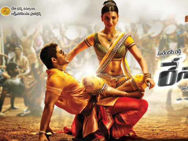 Allu Arjun And Shruti Hassan