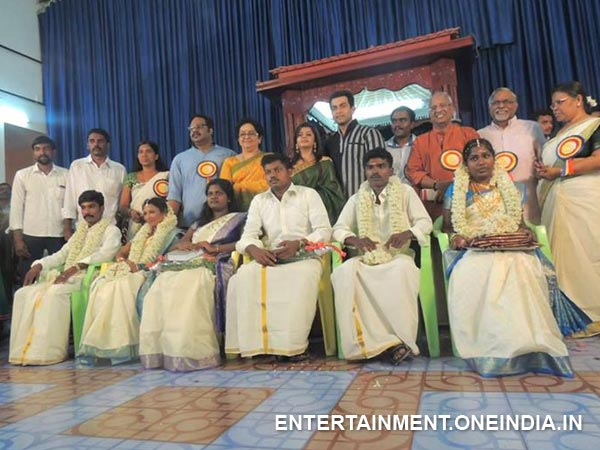 Prithviraj And Family With The Couples