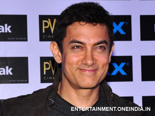 Aamir Khan Supports Environmental Campaign!