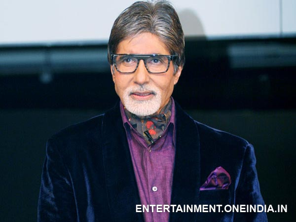 Amitabh Goes Vegan!