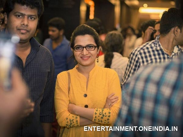 Pic: TV Anchor Divya Darshini At Cuckoo Film Premiere Show