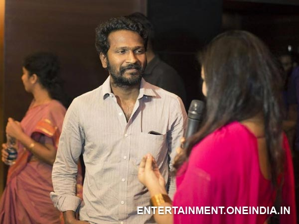 Pic: Vetrimaran Spotted At Cuckoo Film Premiere Show