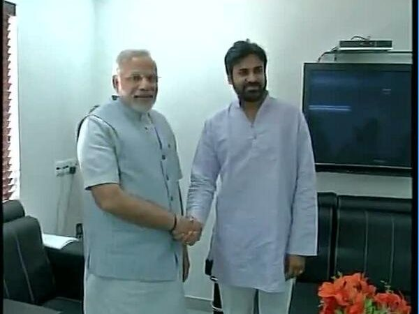Picture Of Pawan Kalyan's Meeting With Narendra Modi